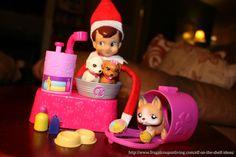 Elf on The Shelf Ideas – The Pet Sitter and Tutorial #ElfontheShelfIdeas #ElfontheShelf #Holiday