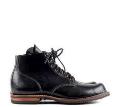 viberg shoes canada boots  SERVICE BOOT BLACK HORSE BUTT viberg.com