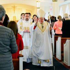 Bishop dedicates new altar at Marymount University chapel - The Arlington Catholic Herald