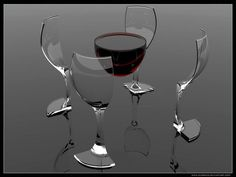 Wine ..... and a glass?