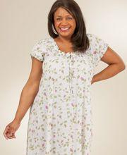 c79b28bdf89 Plus Size Sleepwear for Women with XXL and XL Pajamas   Nightgowns in  cotton