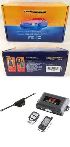 Car Alarms and Security Systems: Crimestopper Sp-502 2-Way Remote Start Keyless Entry Car Alarm Security System -> BUY IT NOW ONLY: $92.87 on eBay!