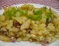 Francouzské brambory No Salt Recipes, Risotto, Potato Salad, Grains, Food And Drink, Rice, Potatoes, Cooking, Ethnic Recipes