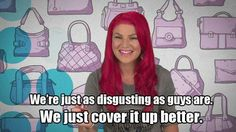 Ha! Girl code with my girl @Jessica Greder