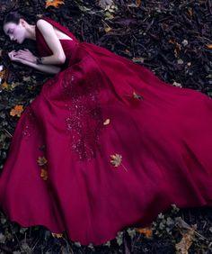 Magda Laguinge by Jumbo Tsui for Harper's Bazaar China