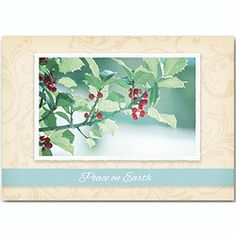 Berry-ing Gifts Holiday Cards   Business Holiday Cards   Deluxe.com