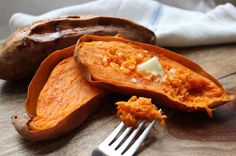 How to bake the PERFECT Sweet Potato.. http://qoo.ly/628cv/0