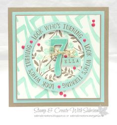 Stamp & Create With Sabrina: Number of Years & Large Numbers Bundle - Part 3