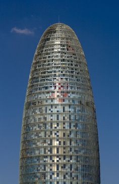 Agbar Tower, Barcelona, Spain, Jean Nouvel