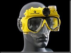 amazing cool gadget Hands Free Underwater Digital Camera Mask Swim goggles take pictures video (4)