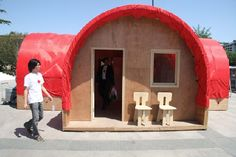 Red+Housing Emergency Housing by OBRA Architects