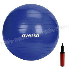 Avessa 55 CM Pilates Egzersiz Topu - Fitness, aerobik ve jimnastik çalışmalarınızda kullanabilirsiniz.Ürün 55 cm Çapındadır  Yanında şişirme aparatı gönderilmektedir.  Tüm vücudun etkili bir şekilde aynı anda çalışmasını sağlar. - Price : TL29.00. Buy now at http://www.teleplus.com.tr/index.php/avessa-55-cm-pilates-egzersiz-topu.html