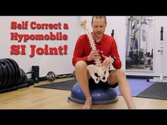 Joint Pain Remedies How to unstick one or both sacroiliac joints. Rheumatoid Arthritis Treatment, Types Of Arthritis, Si Joint Pain, Hip Pain, Psoas Release, Hip Problems, Back Pain Relief, Yoga, 21 Days
