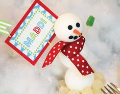 LET IT SNOW! Festive Snowman Kids Party // Hostess with the Mostess®