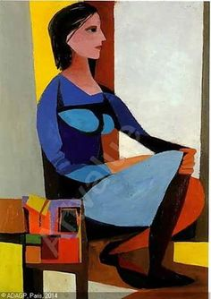 Renato Guttuso - La sigaraia, 1947