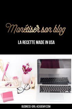 Monétiser son blog , la recette made in USA #blog #blogging Seo Blog, Site Wordpress, Internet, Entrepreneur, Business, How To Make, Lausanne, Oui Oui, Site Web