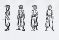 aladdin character design - Google 検索