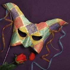 Harlequin Mache Mask | Craft Ideas & Inspirational Projects | Hobbycraft