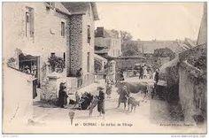 Rue principale de Quimiac - Mesquer carte postale ancienne