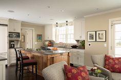 Greek Revival Interior Colors | Greek Revival Remodel - Kitchen traditional-kitchen