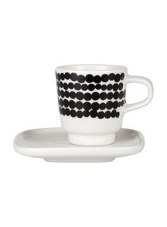 Marimekko Oiva espresso cup