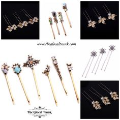 Available now #hairjewelry by #theglocaltrunk 🌟#shopnow ✨#onlinestore www.theglocaltrunk.com For orders DM or WhatsApp on 8779608723 . . . . . . #theglocaltrunk #instajewelry #instajewelrygroup #hairpins #hairaccessories  #bohemianstyle #onlineshopping #hairbling