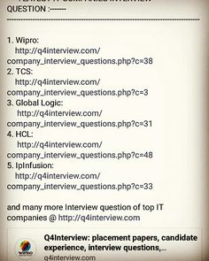 Question And Answer Interview Questions Mock Test