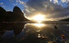 Um belo amanhecer carioca nesta 2ª-feira! Foto: Hudson Pontes. http://glo.bo/1tTxa3P pic.twitter.com/CB22wqdtHs