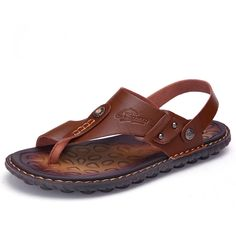 d60ec6cc0c90c Cheap shoes quality, Buy Quality shoes style directly from China shoes shoes  Suppliers: 2017 Spring Summer New Style men's Sandals Genuine Leather  Sandals ...