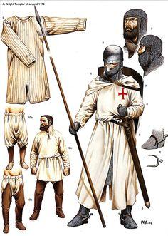 Medieval2 Armadura Medieval, Medieval World, Medieval Fantasy, Costume Français, Crusader Knight, Empire Romain, Landsknecht, Medieval Weapons, Medieval Knight Armor