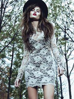 Fashion Spoiler: Morena Rosa - Outono/Inverno 2013 Autumn winter 2013  Black and white  (I don't own the image)