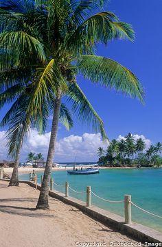 Third beach, Morro de Sao Paulo, Tinhare Archipelago, Cairu Municipality, Bahia, Brazil