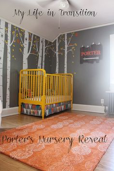 Porter's Nursery Reveal | My Take on the Woodland Theme