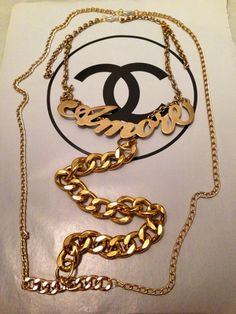 Amor Body Chain Statement by Viciouse31 a Handmade Jewelry brand