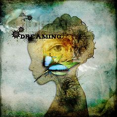 Dreaming: REM sleep, rapid eye movement/ paradoxical sleep, dreams are a series of images, emotions, and thoughts passing through a sleeping person's mind.  In REM sleep, a person's heart rate rises, breathing becomes rapid,  and the body is paralyzed.