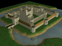 The shape, size and purpose of the medieval castle changed over time. This page describes the changes that took place. Middle Ages History, Castle Parts, Castle Project, Round Tower, Fortification, Medieval Castle, Picnic Table, Dungeons And Dragons, Knight