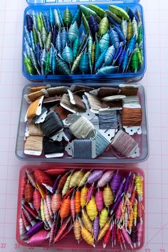 I love my creative workspace and I love to stay organized! Skeins are so organised!!! Wish mine were!