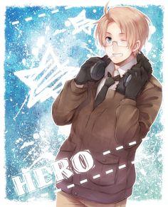 Hero by よ- Hetalia - America / Alfred F. Jones