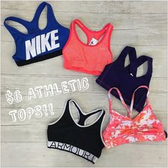 If you're about to spend $25 on a sports bra at your favorite athletic retailer....don't! We have a huge selection for prices wayyyyyyyy lower than the malls! We currently have a huge selection of athletic apparel at our Harwood Heights location!!! http://ift.tt/2bdFAmy - http://ift.tt/1HQJd81
