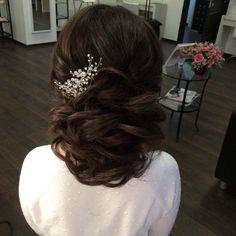 wedding hairstyle updo 6 via antonina roman