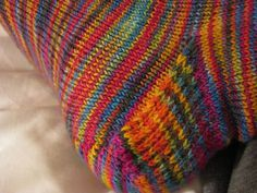 Toe-Up Socks With a Difference by Wendy D. Johnson