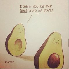 The good kind of fat!  #avocado