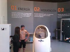 Mexican Boxer Oscar Valdez is Getting Prepared for the Bod Pod Test to Measure the Body Composition