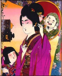 Art - Advertisement - Japanese 19th Century telephone