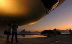 MAC - Museu de Arte Contemporânea - Niteroi - Rio de Janeiro