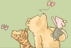 classic pooh - Google Search Winnie The Pooh Tattoos, Winnie The Pooh Drawing, Winnie The Pooh Pictures, Winnie The Pooh Friends, Winnie The Pooh Classic, Vintage Winnie The Pooh, Eeyore, Tigger, Rainbow Butterfly