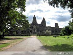 East entrance of Angkor Wat, Cambodia