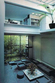 Blue box house. Mayumi Miyawaki. Tokyo, Japan 1971