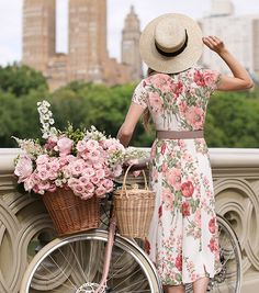 I am kicking off summer with a series focusing on my favorites for the season. This week I am focused on dresses brining you my favorite styles each day ATLANTIC PACIFIC // BLAIR EADIE Atlantic Pacific, Summer Hats, Spring Summer, Blair Eadie, Bike Photography, Lifestyle Photography, Bicycle Girl, Lany, Central Park