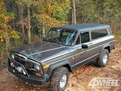 1983 Jeep Cherokee SJ.. Looks like just an older version of my 1991 XJ
